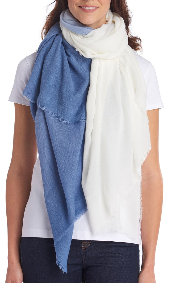 BARBOUR Dip Dye Scarf, Main, color, 400