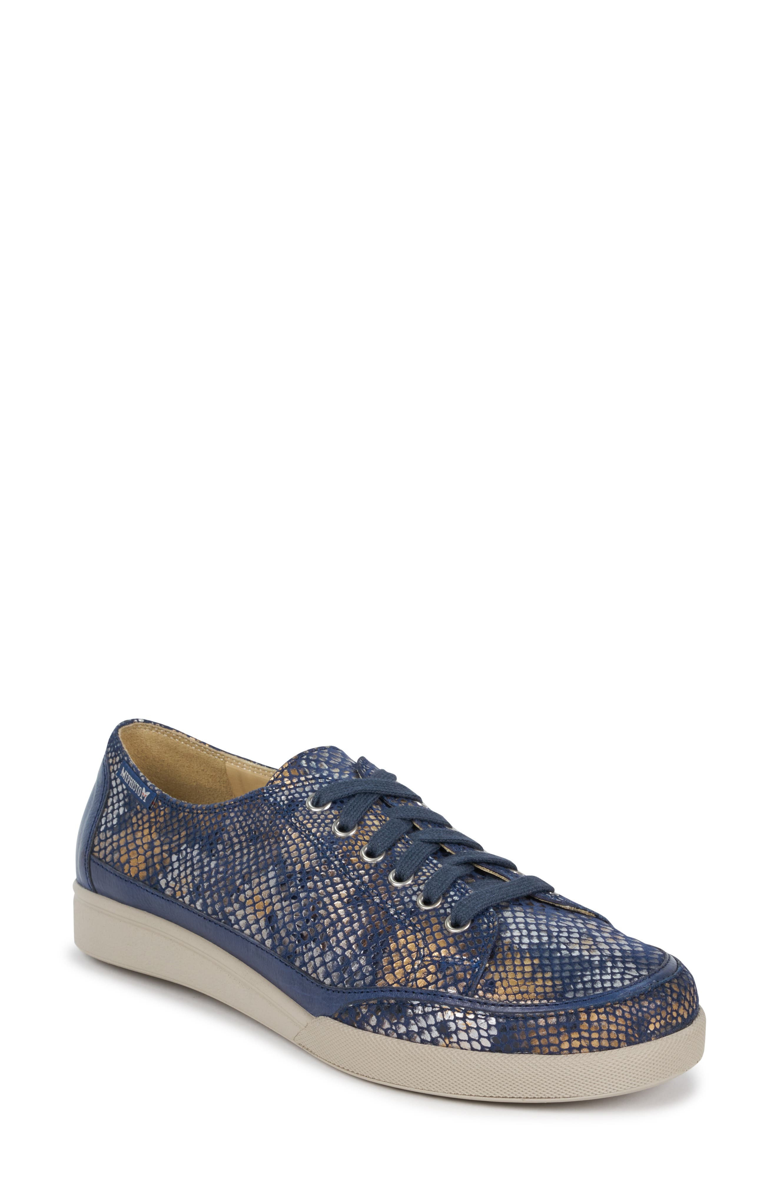 Mephisto Delya Sneaker, Blue