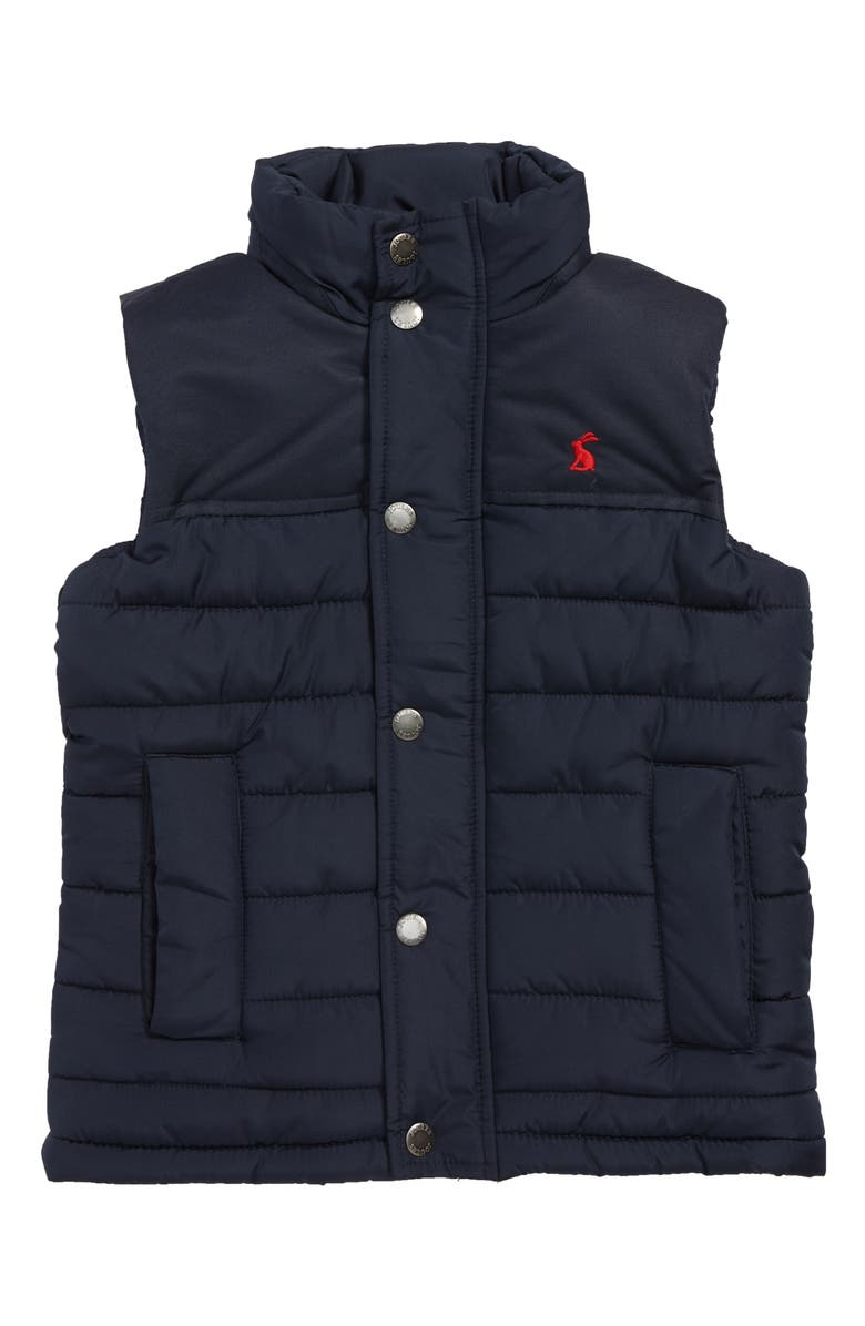 Joules Matchday Quilted Vest Big Boys