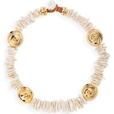 Lizzie Fortunato Aphrodite Collar Necklace