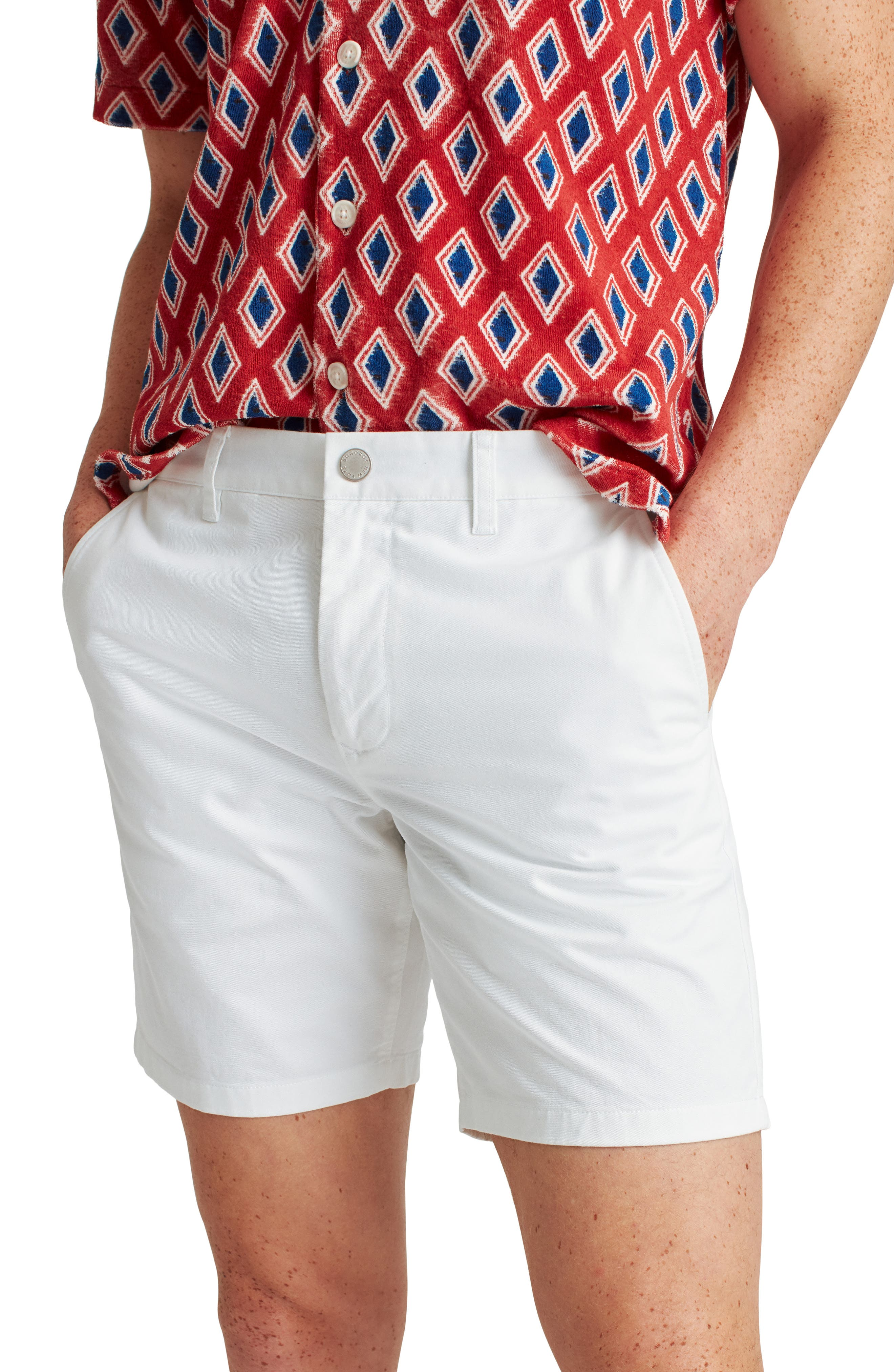 Stretch Washed Chino 7-Inch Shorts