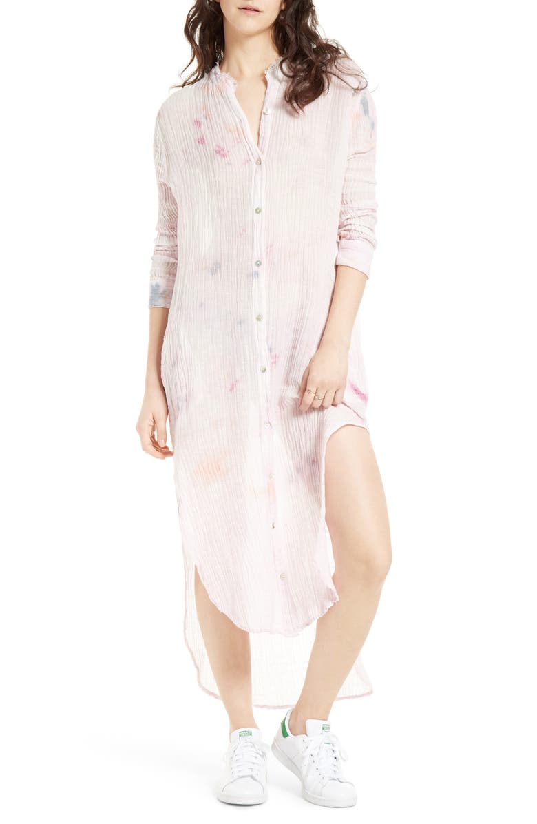 FREE PEOPLE Happiest Morning Tunic, Main, color, 900