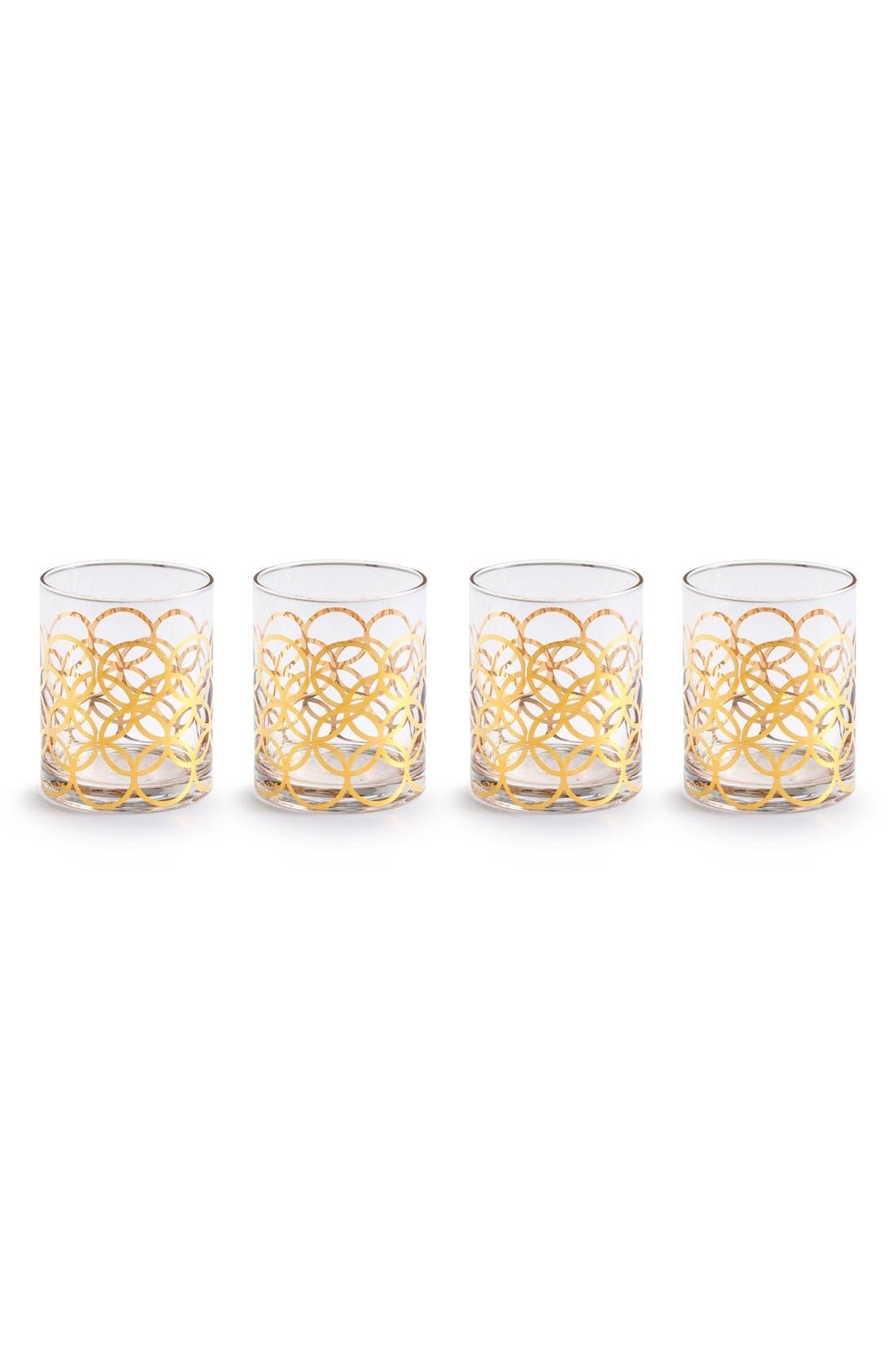 'La Cite' Double Old Fashioned Glasses, Main, color, 100