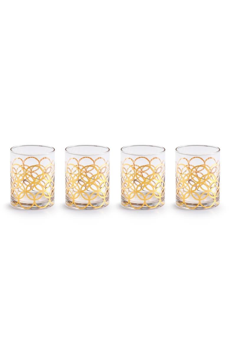ROSANNA 'La Cite' Double Old Fashioned Glasses, Main, color, 100