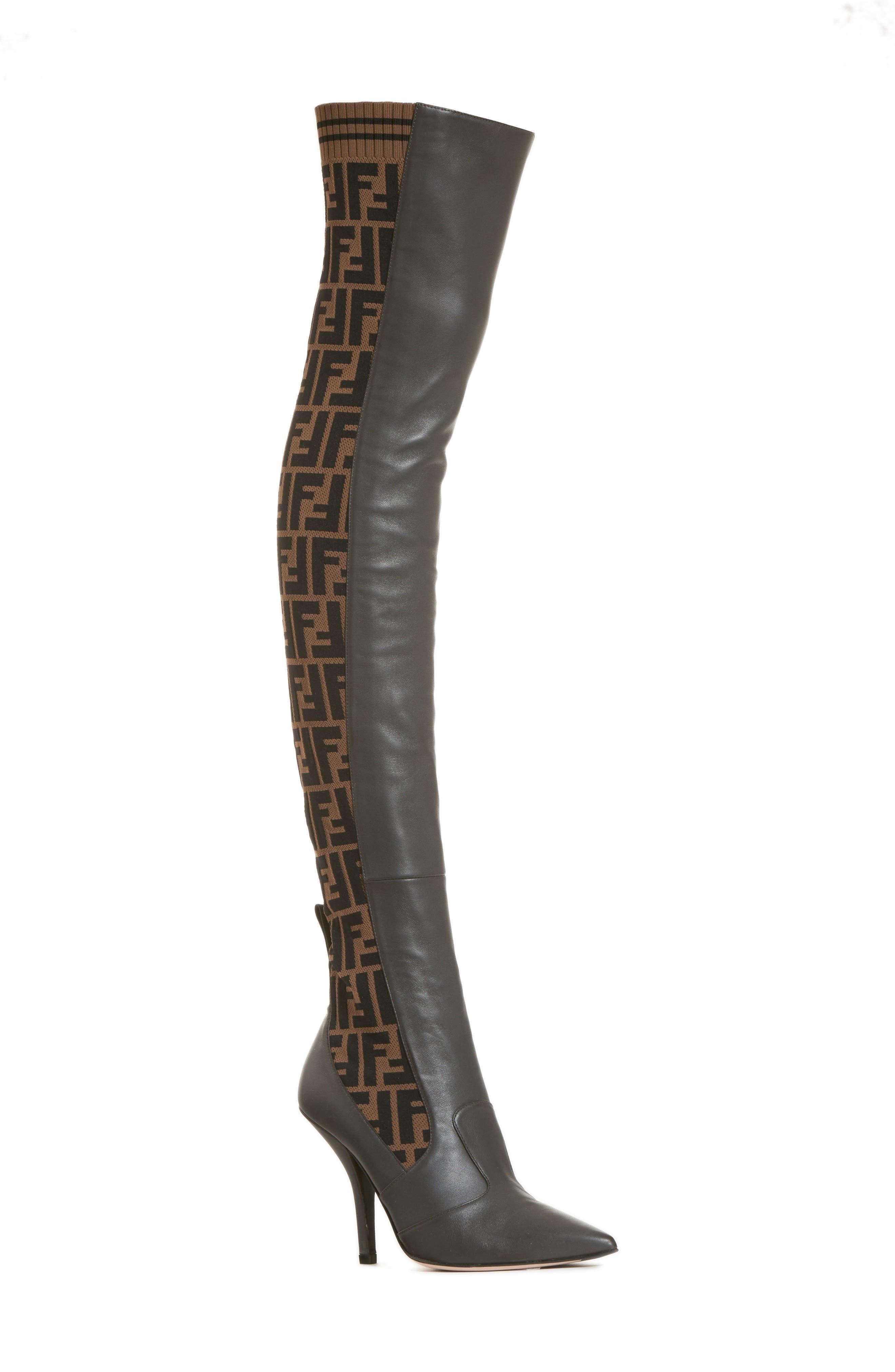 Fendi Rockoko Over the Knee Boot (Women)