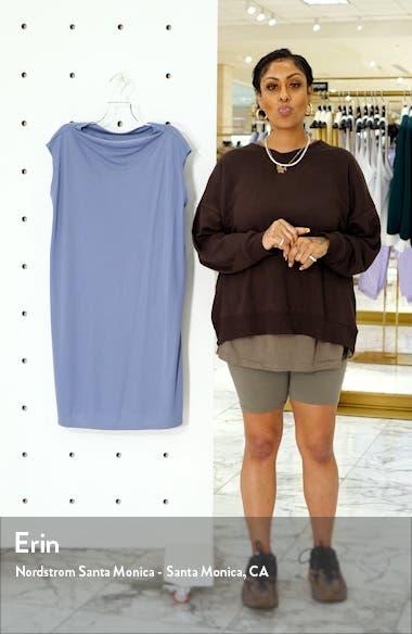 Drape Neck Shift Dress, sales video thumbnail