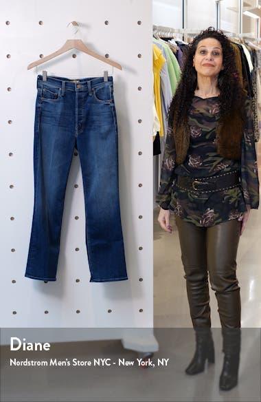 The Tripper High Waist Crop Bootcut Jeans, sales video thumbnail
