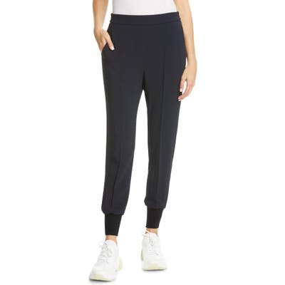 Stella Mccartney Julia Stretch Cady Jogger Pants, 4 IT - Black