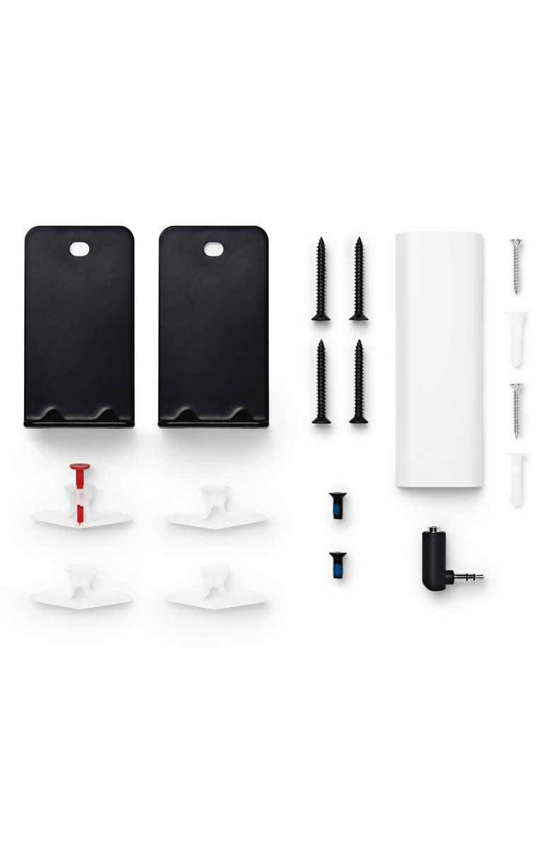 BOSE<SUP>®</SUP> SoundBar Wall Bracket Kit, Main, color, BLACK