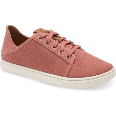 Olukai Pehuea Li Convertible Sneaker, Pink