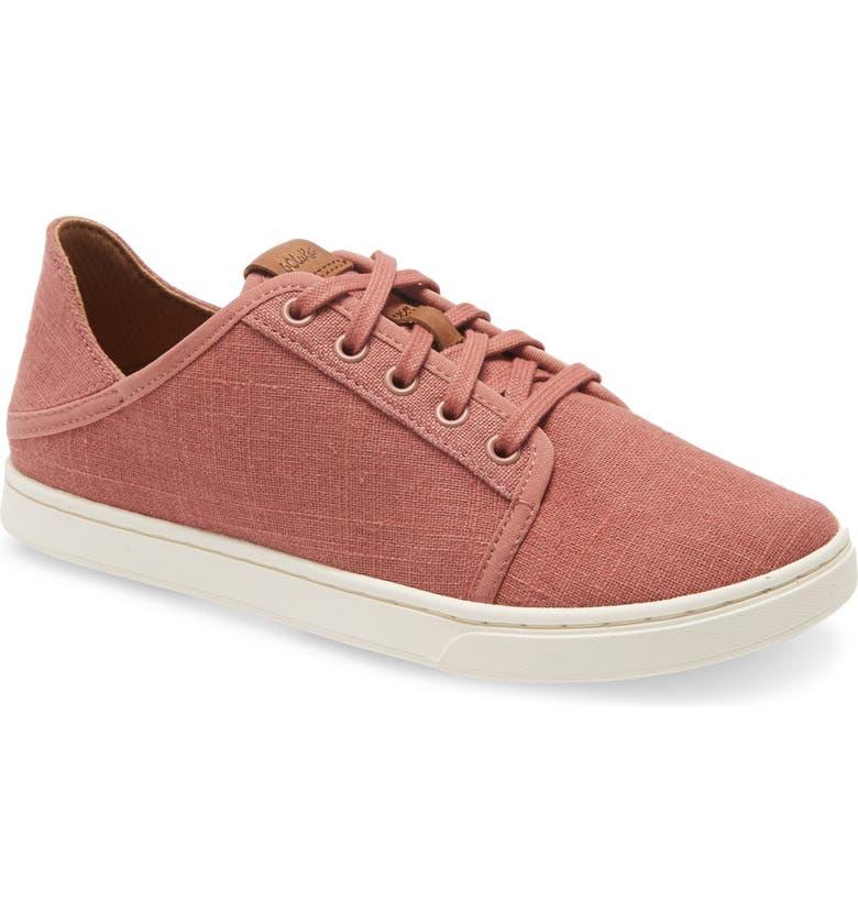 OLUKAI Pehuea Li Convertible Sneaker, Main, color, CEDAR WOOD FABRIC