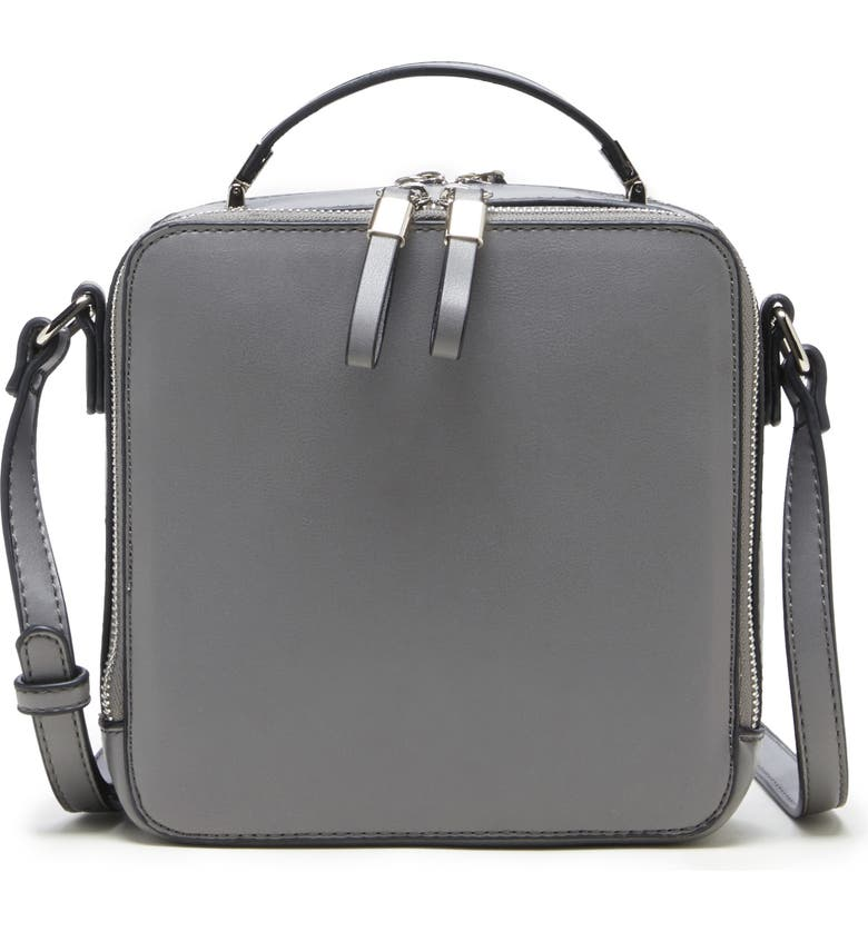 Sole Society Nycky Faux Leather Crossbody Bag