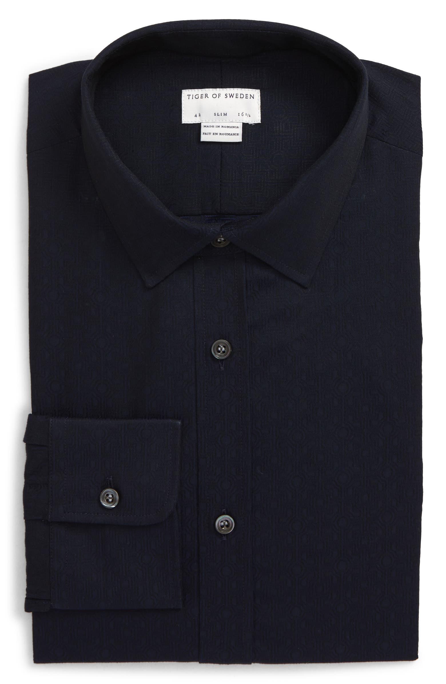 Trim Fit Dress Shirt TIGER OF SWEDEN