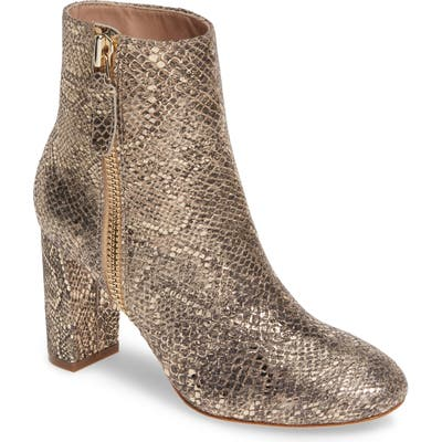 James Chan Delia Bootie, Metallic