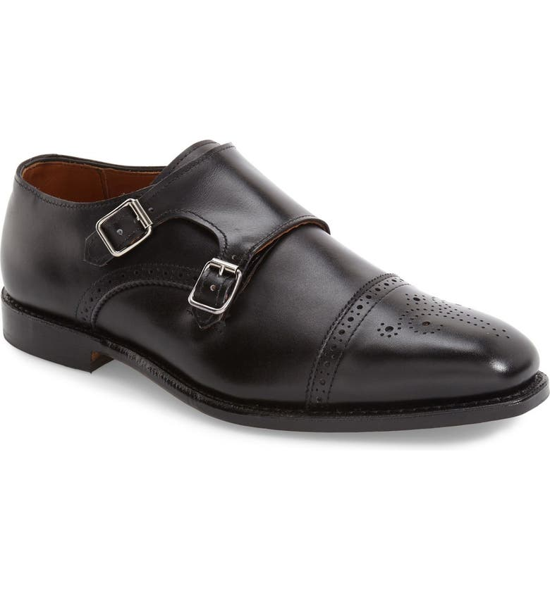 ALLEN EDMONDS 'St. Johns' Double Monk Strap Shoe, Main, color, 001