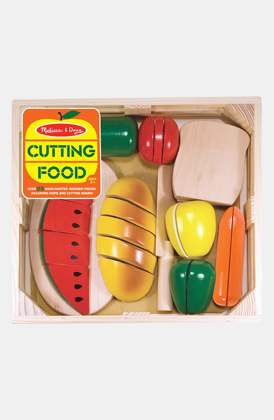 Image of Melissa & Doug Cutting Food Crate