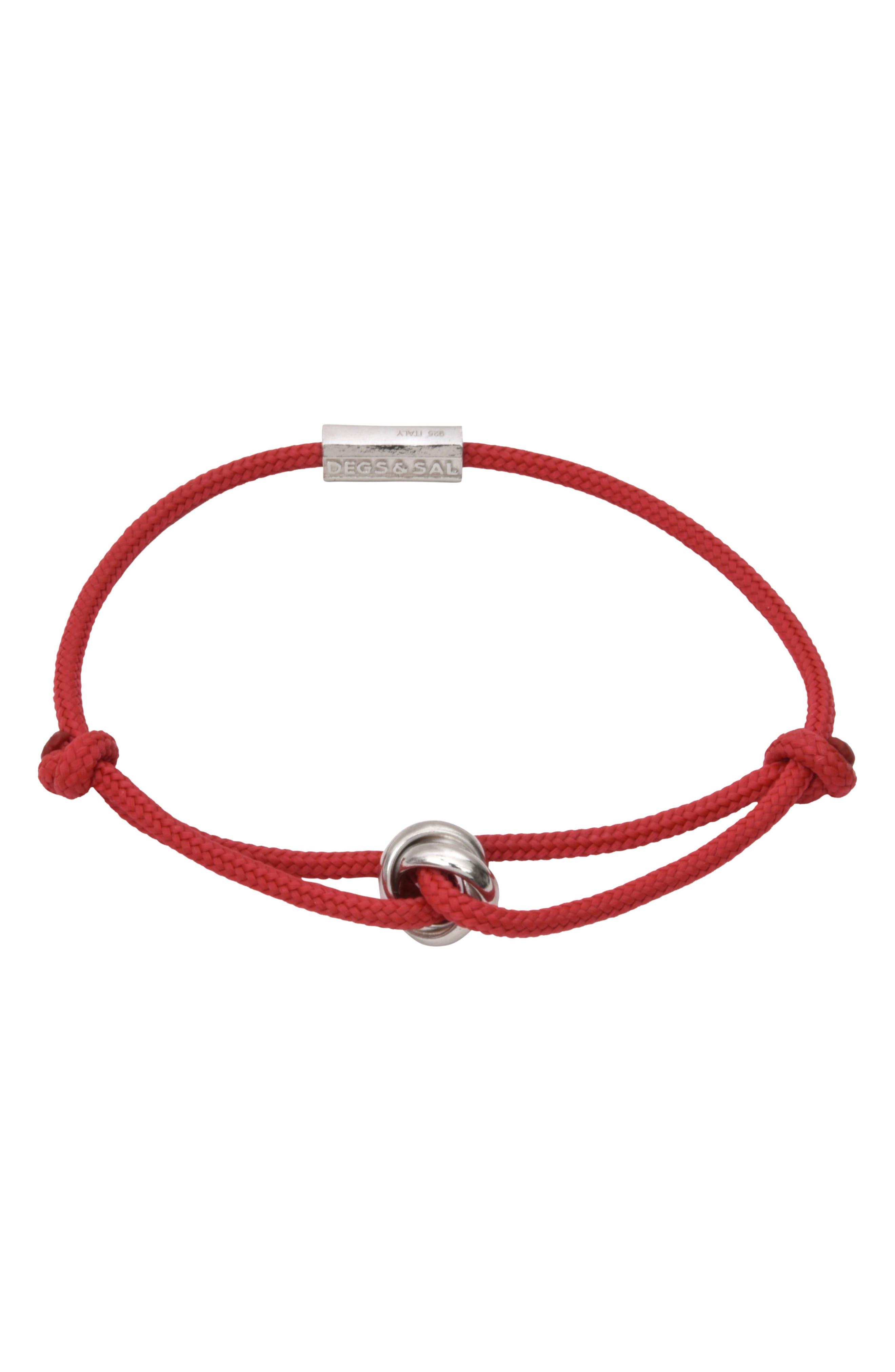 Trinity Rope Bracelet