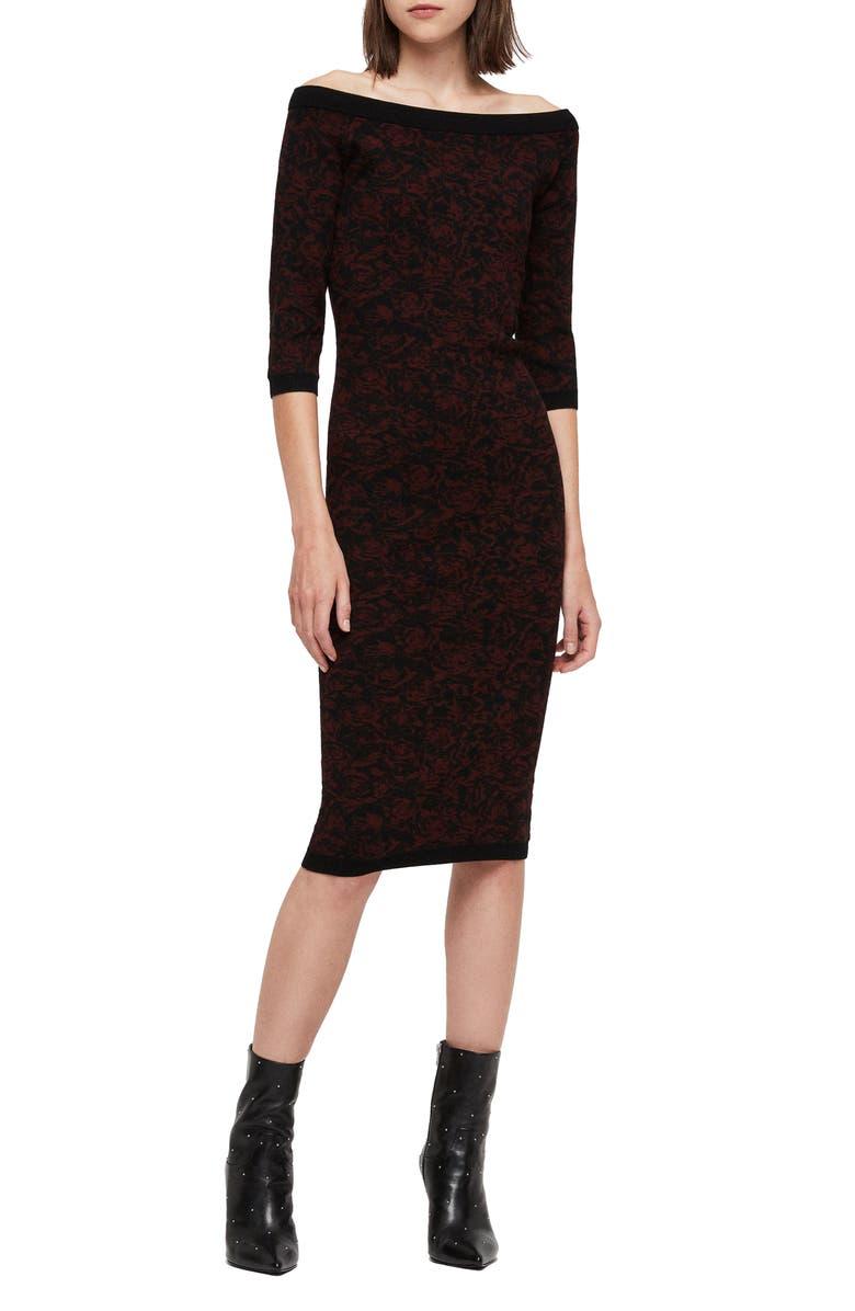 Ana Rose allsaints ana rose sweater dress   nordstrom