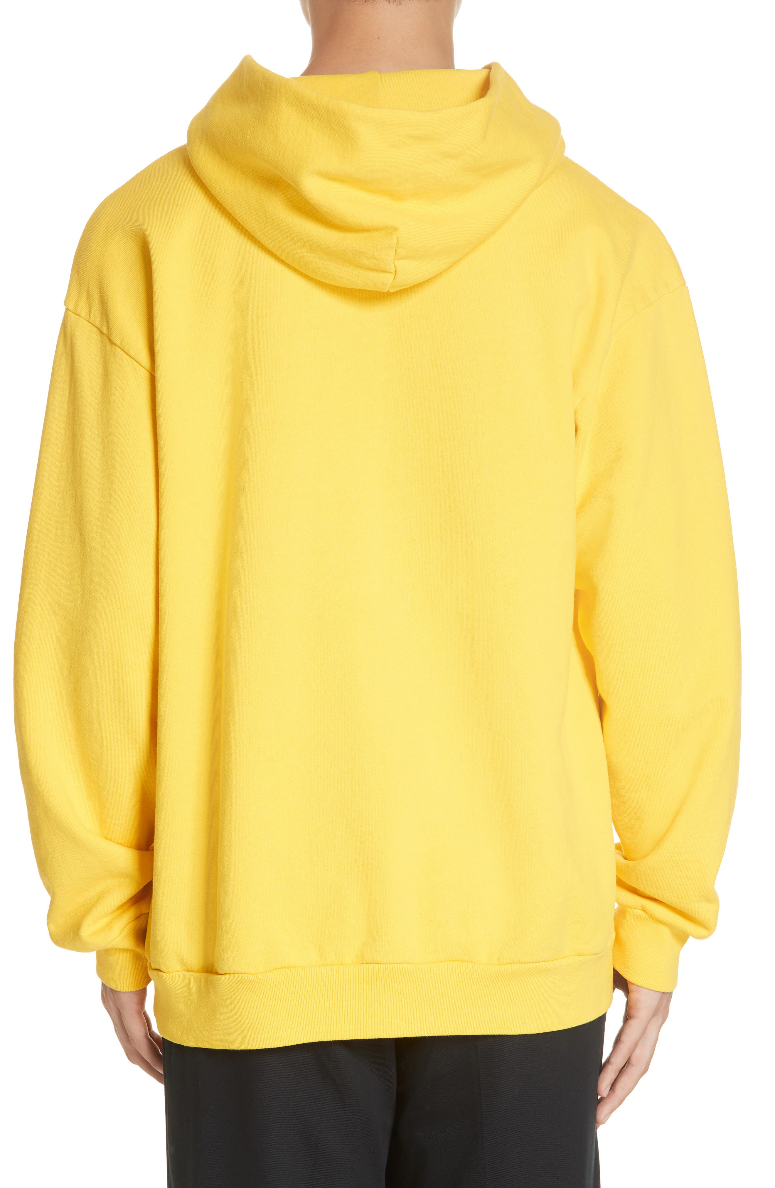 ,                             Old English Graphic Hoodie,                             Alternate thumbnail 2, color,                             GOLD