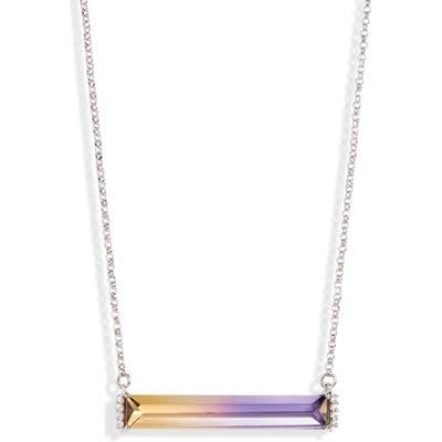 Kate Spade New York Geo Gems Mini Pendant Necklace