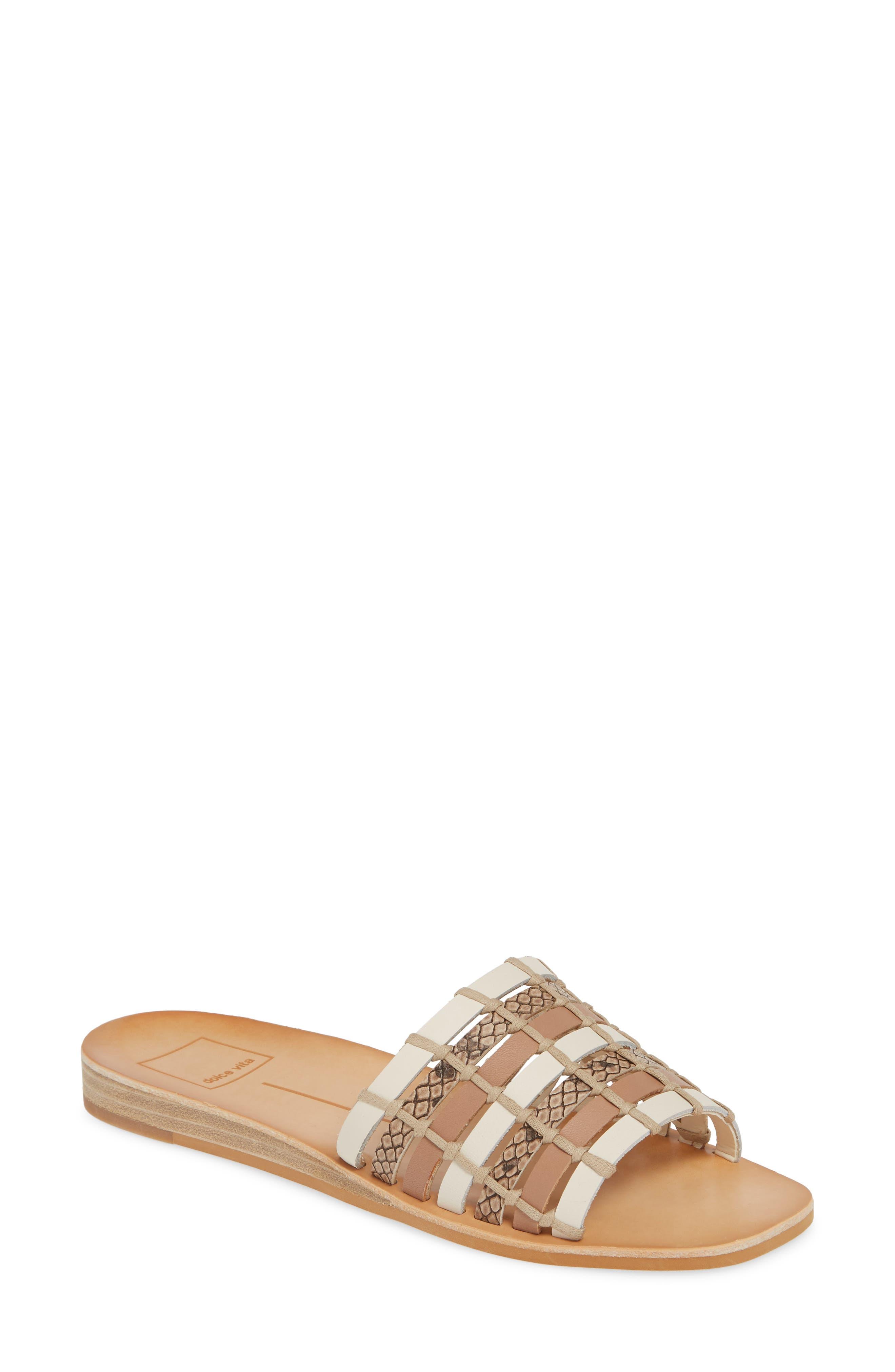 Dolce Vita Colsen Slide Sandal, Brown