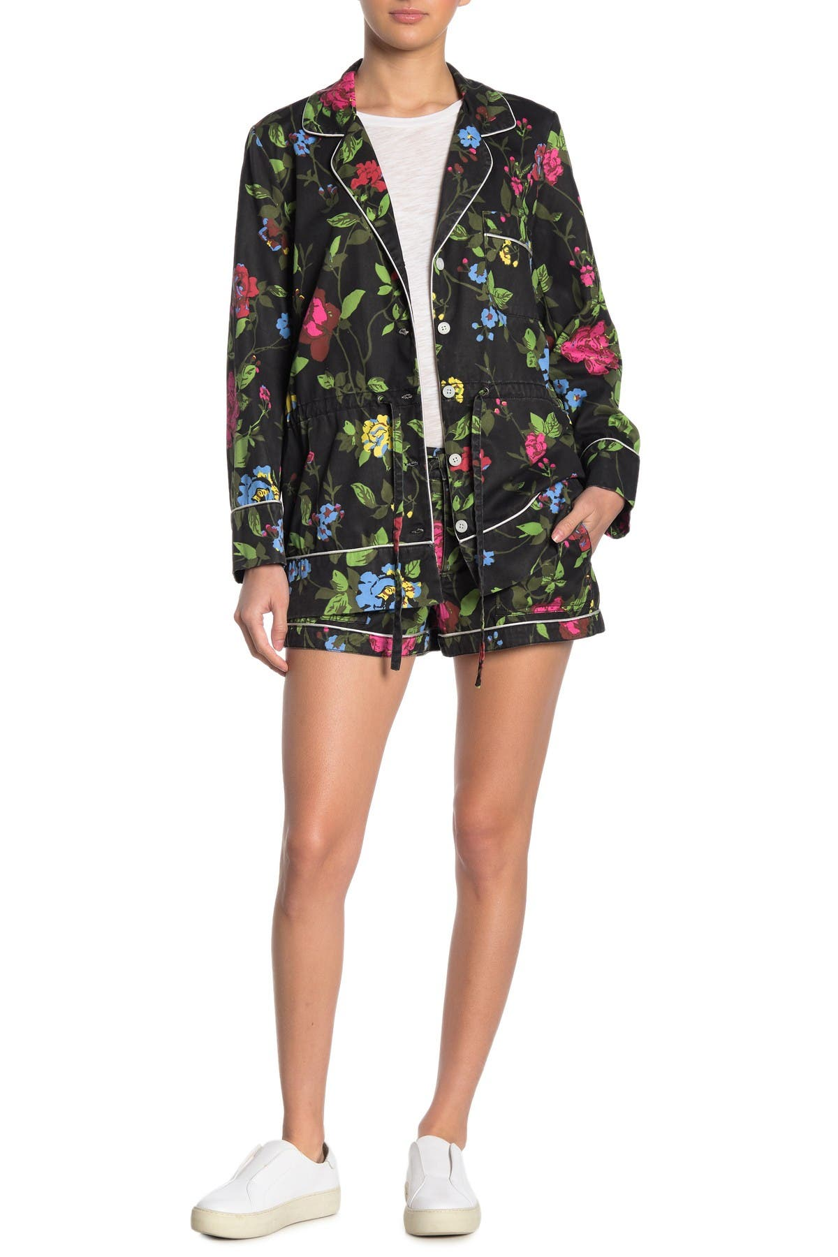 Image of PAM AND GELA Floral Printed Shorts