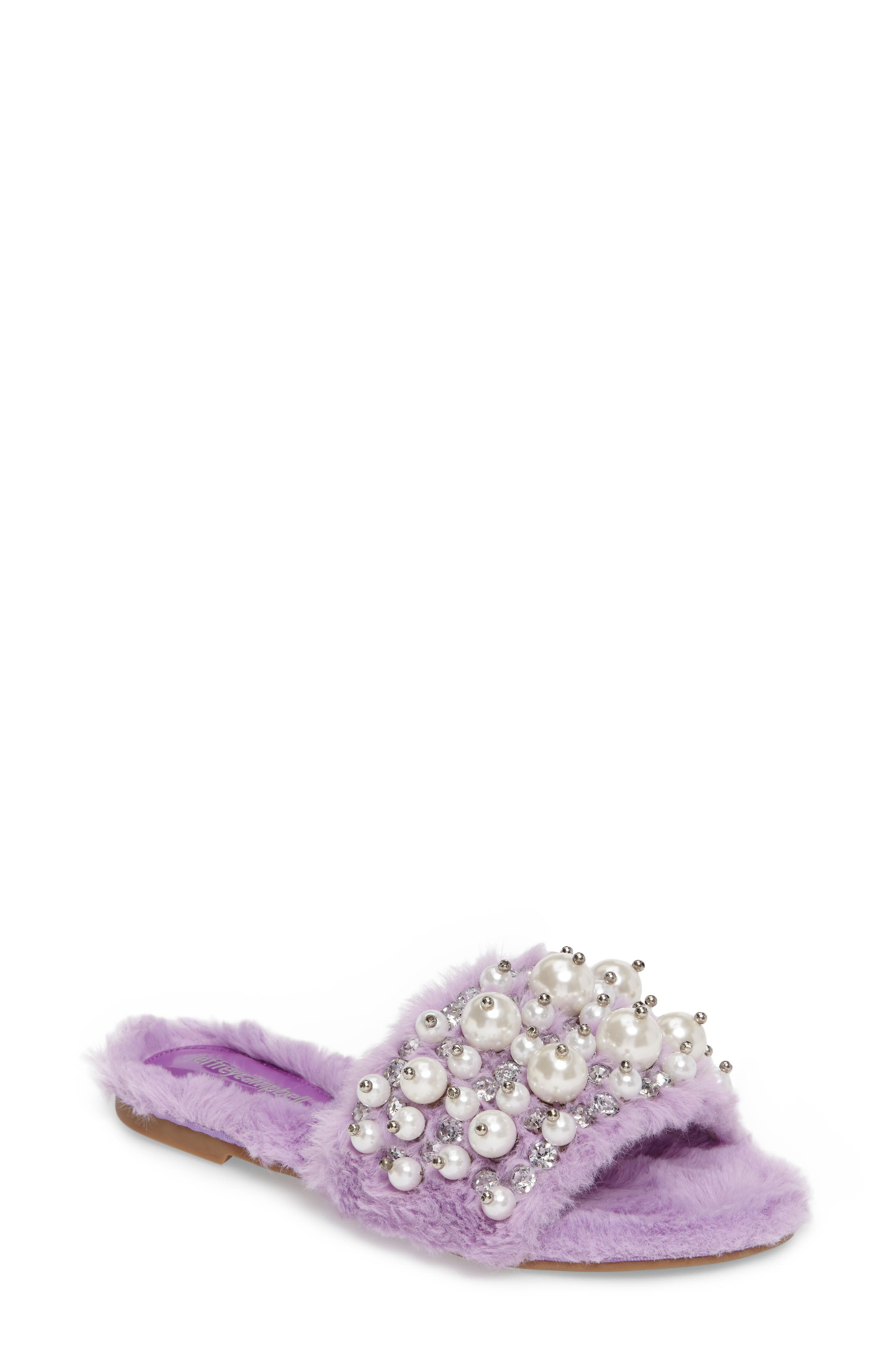 ,                             Facil Embellished Slide Sandal,                             Main thumbnail 25, color,                             507