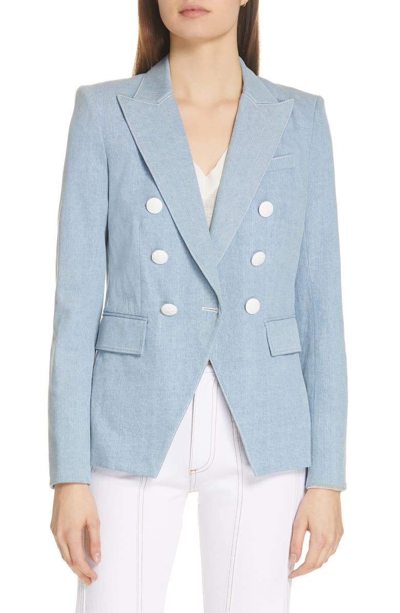 VERONICA BEARD Miller Denim Dickey Jacket, Main, color, DENIM