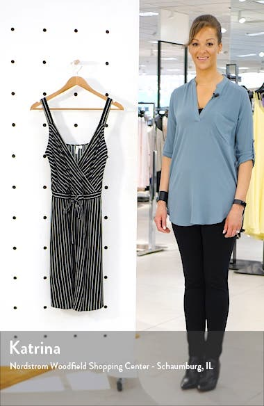 Sleeveless Tie Waist Dress, sales video thumbnail