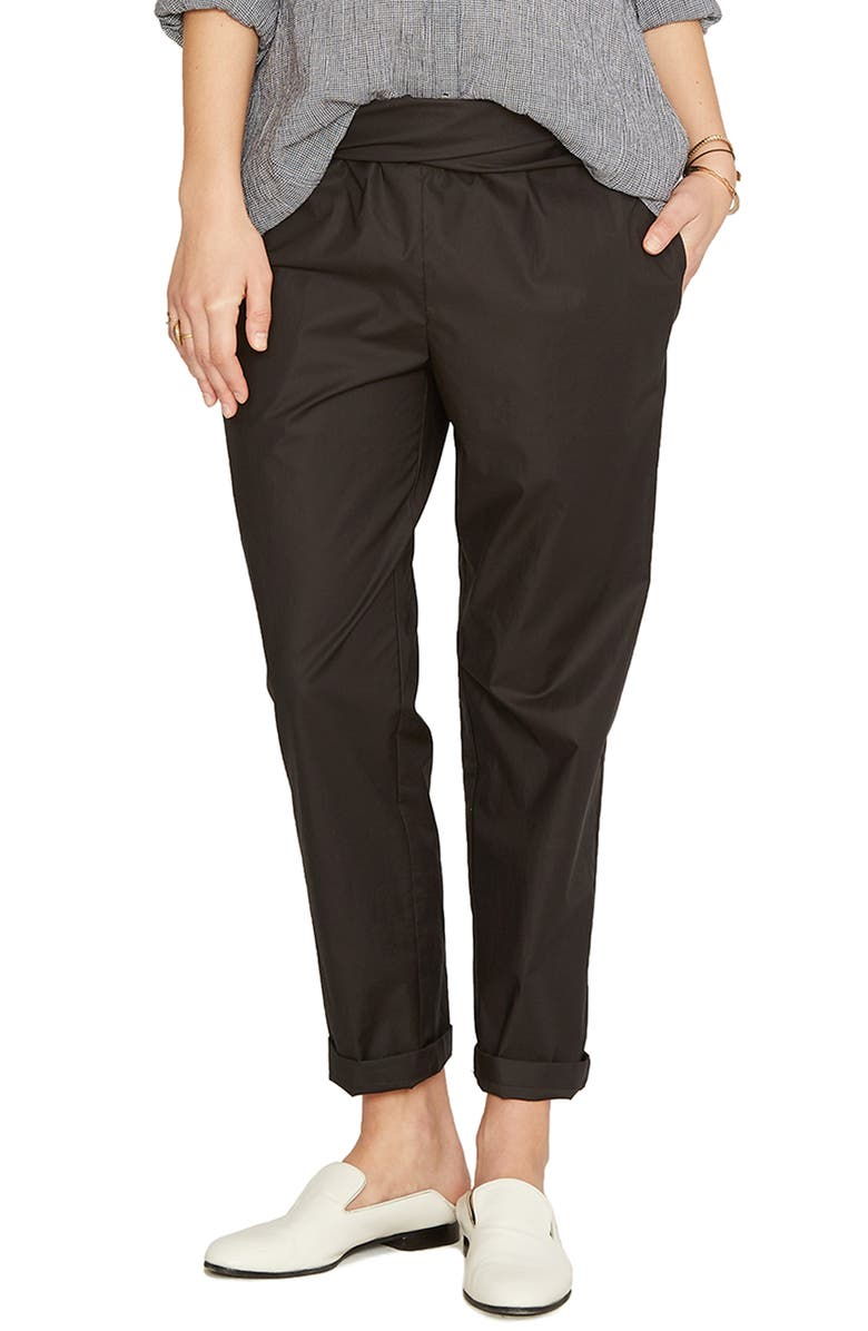 HATCH Ipek Pants, Main, color, BLACK