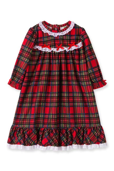 Image of Little Me Plaid Nightgown