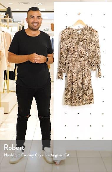 Klynx Smocked Silk Blend Dress, sales video thumbnail
