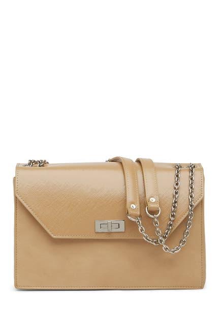 Image of Lancaster Paris Karine Leather Shoulder Bag