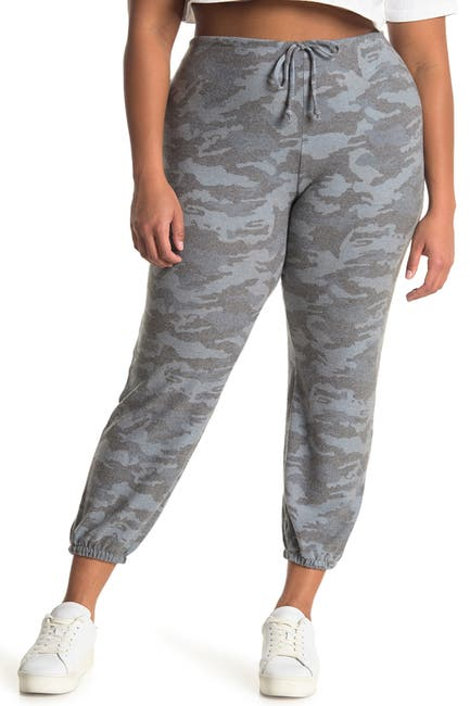 Image of Chaser Camo Love Brushed Knit Joggers