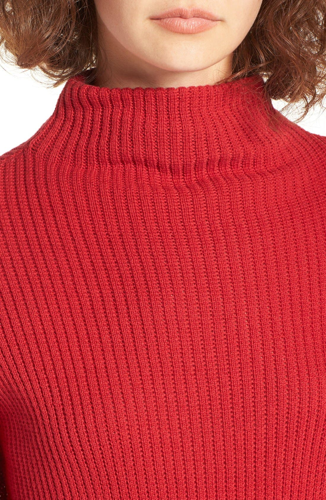 ,                             Mock Neck Sweater,                             Alternate thumbnail 34, color,                             610