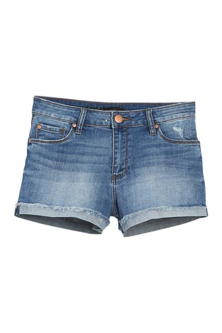 Image of STS BLUE Molly High Waist Denim Shorts