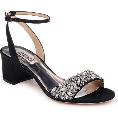 Badgley Mischka Ivanna Ankle Strap Sandal, Black