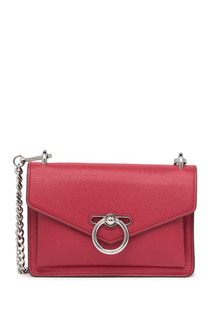Image of Rebecca Minkoff Jean Leather Crossbody Bag
