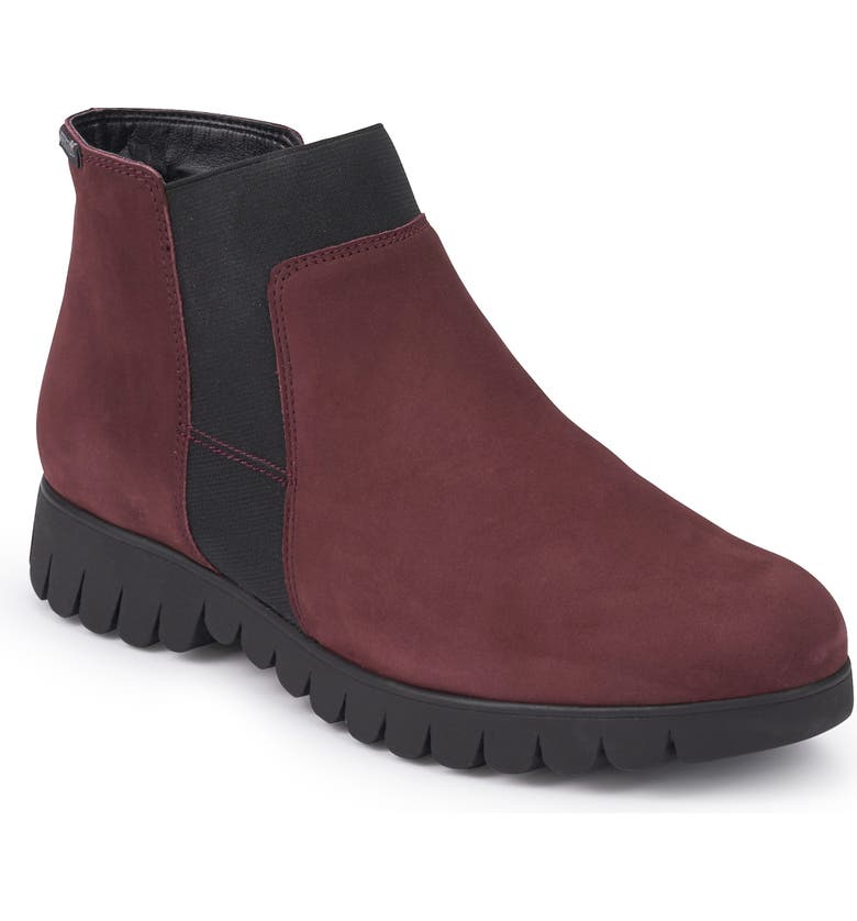 MEPHISTO Lyana Bootie, Main, color, WINE NUBUCK