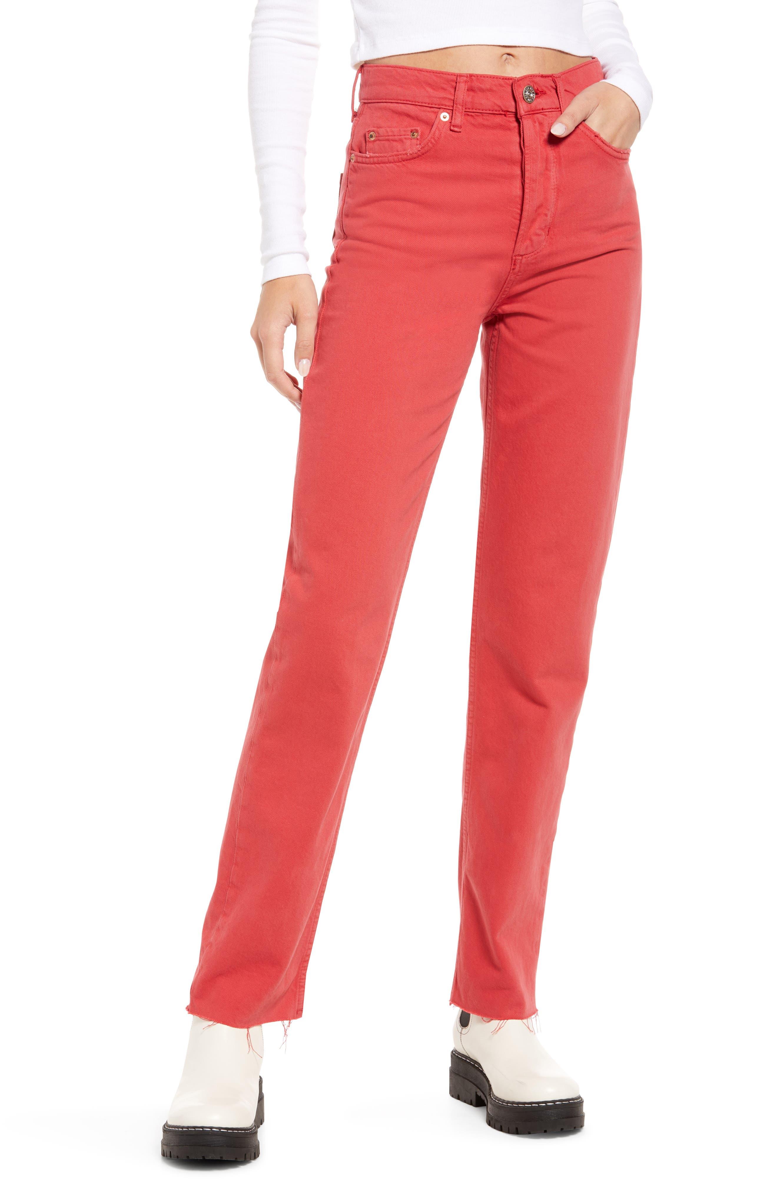 Women's Pax High Waist Straight Leg Jeans