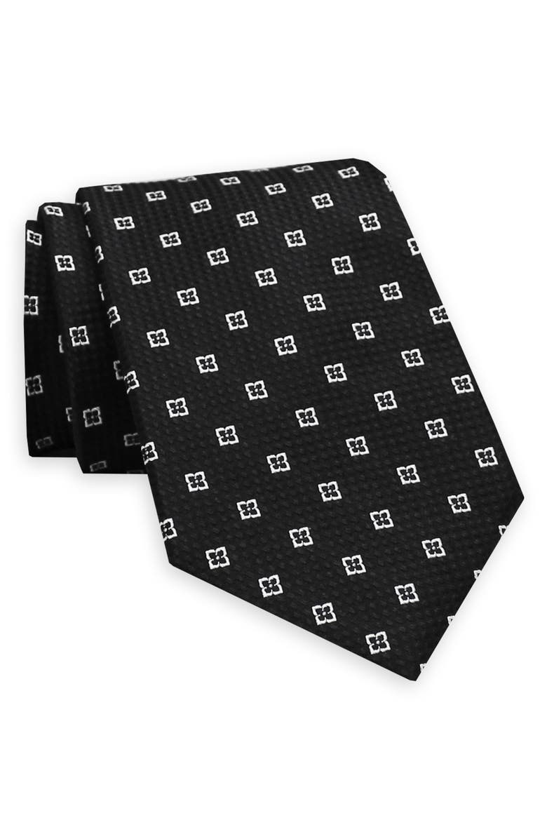 GITMAN Geometric Silk Tie, Main, color, 005
