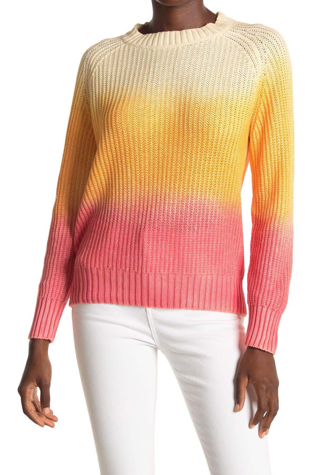 Image of Lush Ombre Fade Raglan Sweater