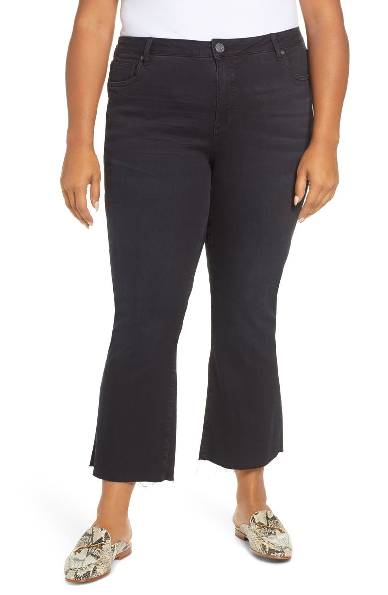 KUT FROM THE KLOTH Stella Kick Flare Crop Jeans, Main, color, 400