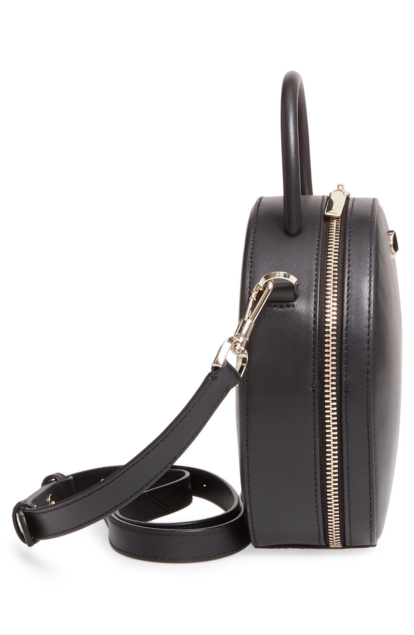 ,                             andi canteen leather crossbody bag,                             Alternate thumbnail 6, color,                             BLACK