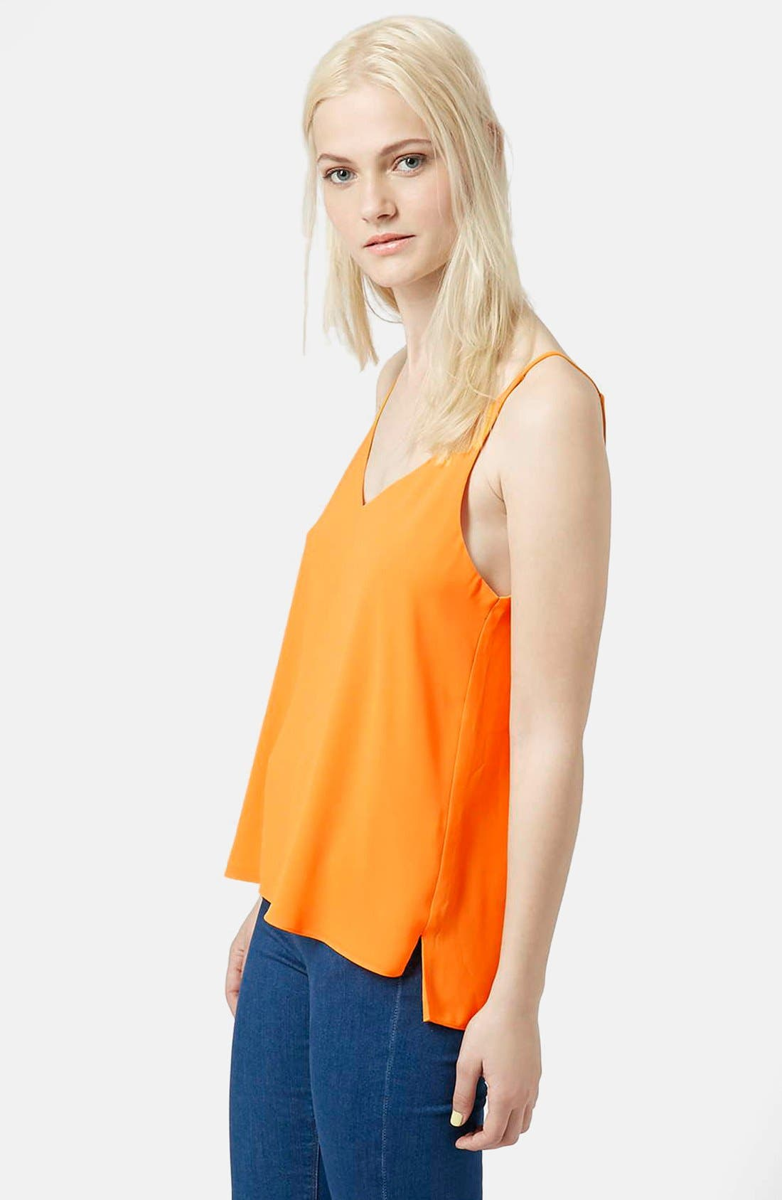 ,                             Strappy V-Neck Camisole,                             Main thumbnail 78, color,                             800