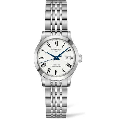 Longines Record Automatic Bracelet Watch, 30Mm