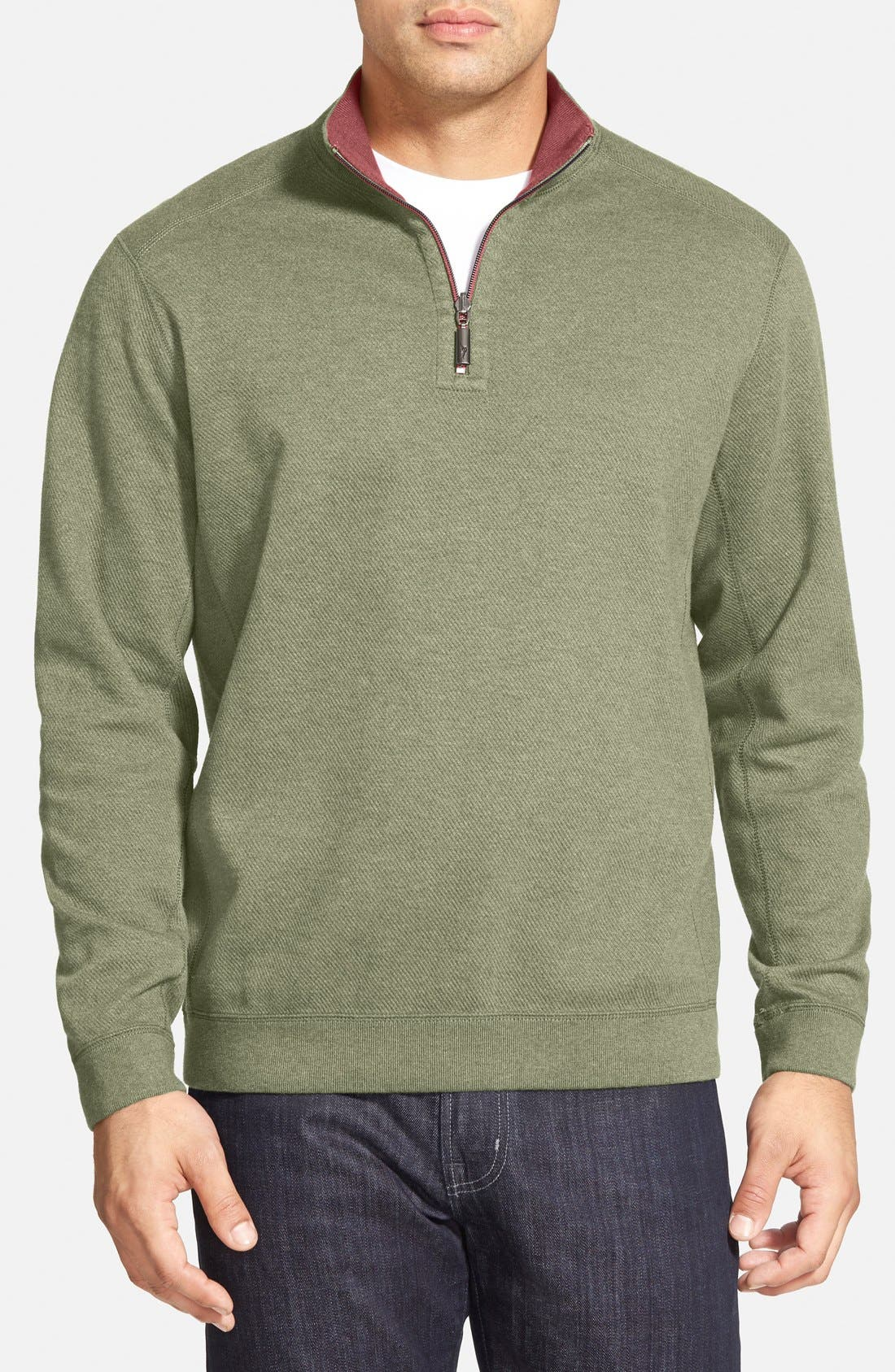 ,                             'Flip Side' Reversible Quarter Zip Pullover,                             Main thumbnail 44, color,                             206