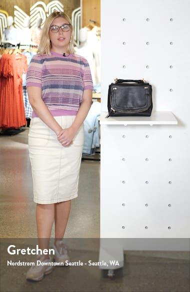 Mini Rubie Faux Leather Crossbody Bag, sales video thumbnail