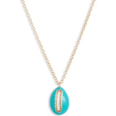 Argento Vivo Enamel Shell Pendant Necklace