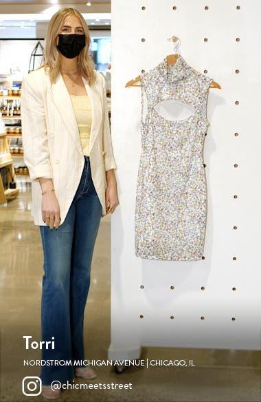 Maci Mock Neck Sleeveless Dress, sales video thumbnail